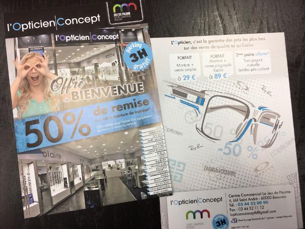 3d6be0f5938ccd Une nouvelle offre de l Opticien Concept à Beauvais et un flyer ...