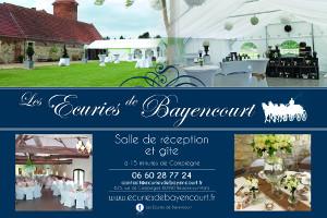 ecurie_bayencourt_lieu cérémonies de mariage Oise Compiègne