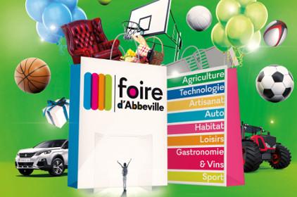 Foire Expo d'Abbeville du 07 au 09/10/2017