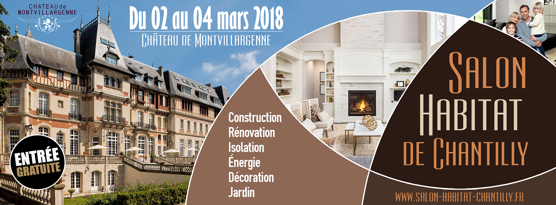 Salon de l 39 habitat de chantilly affipub communication - Salon habitat beauvais ...