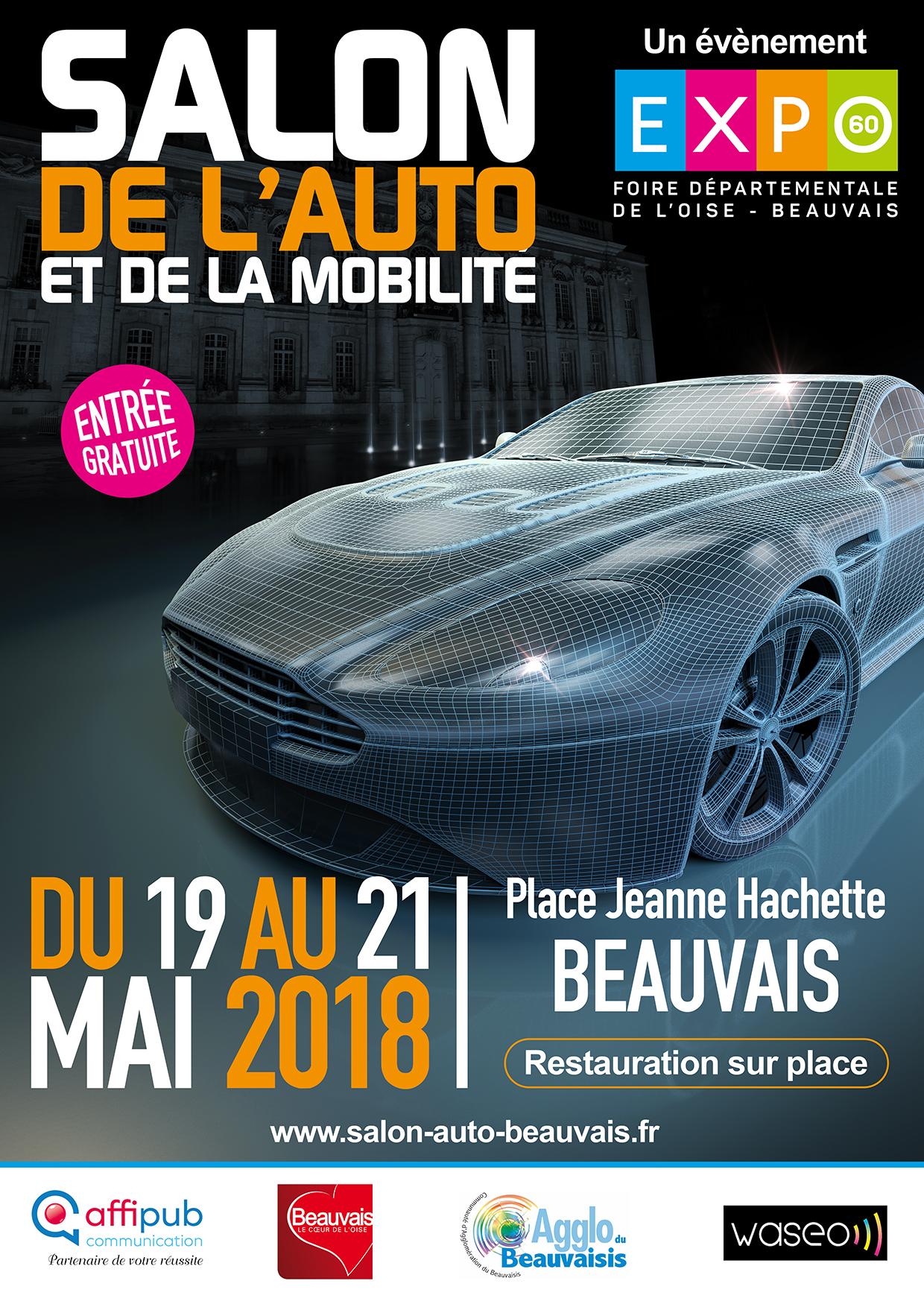 Salon auto et mobilit de beauvais affipub communication - Salon habitat beauvais ...