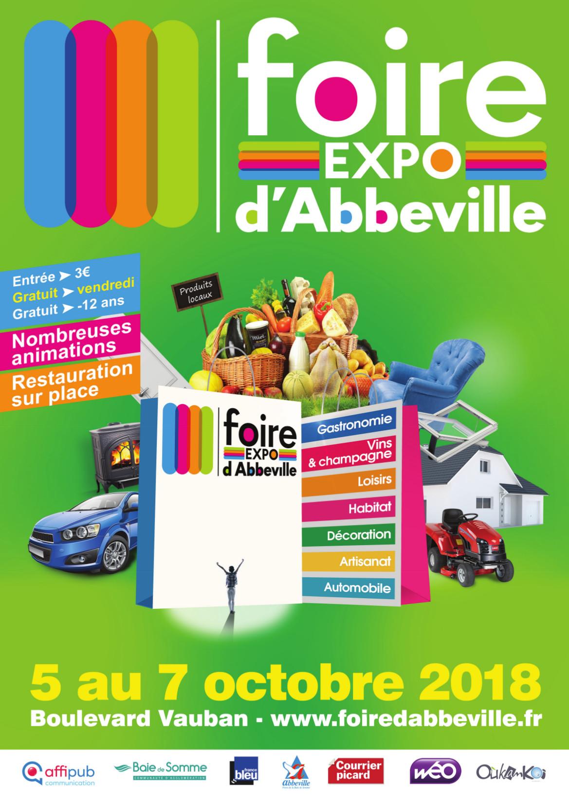 Foire d'Abbeville du 05 au 07 Octobre