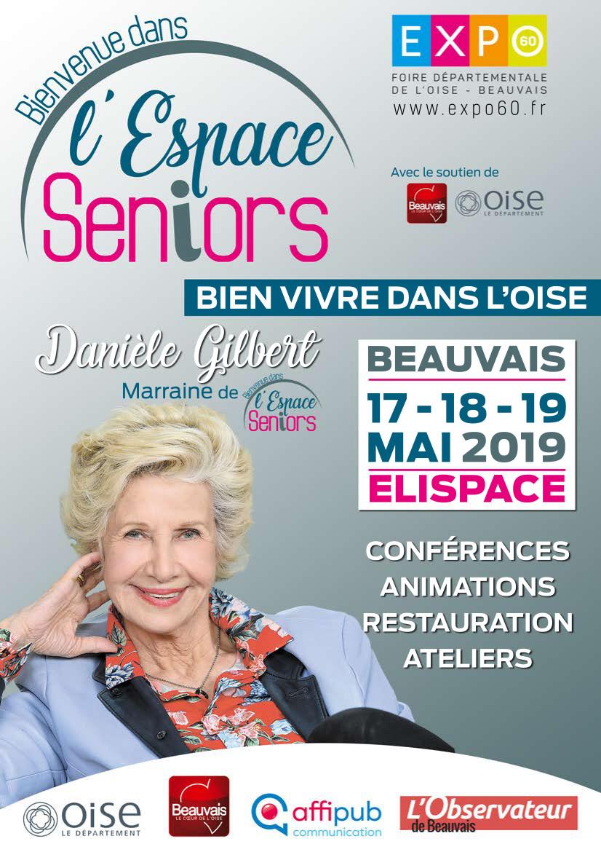 Salon des Seniors de l'Oise du 17 au 19 mai 2019