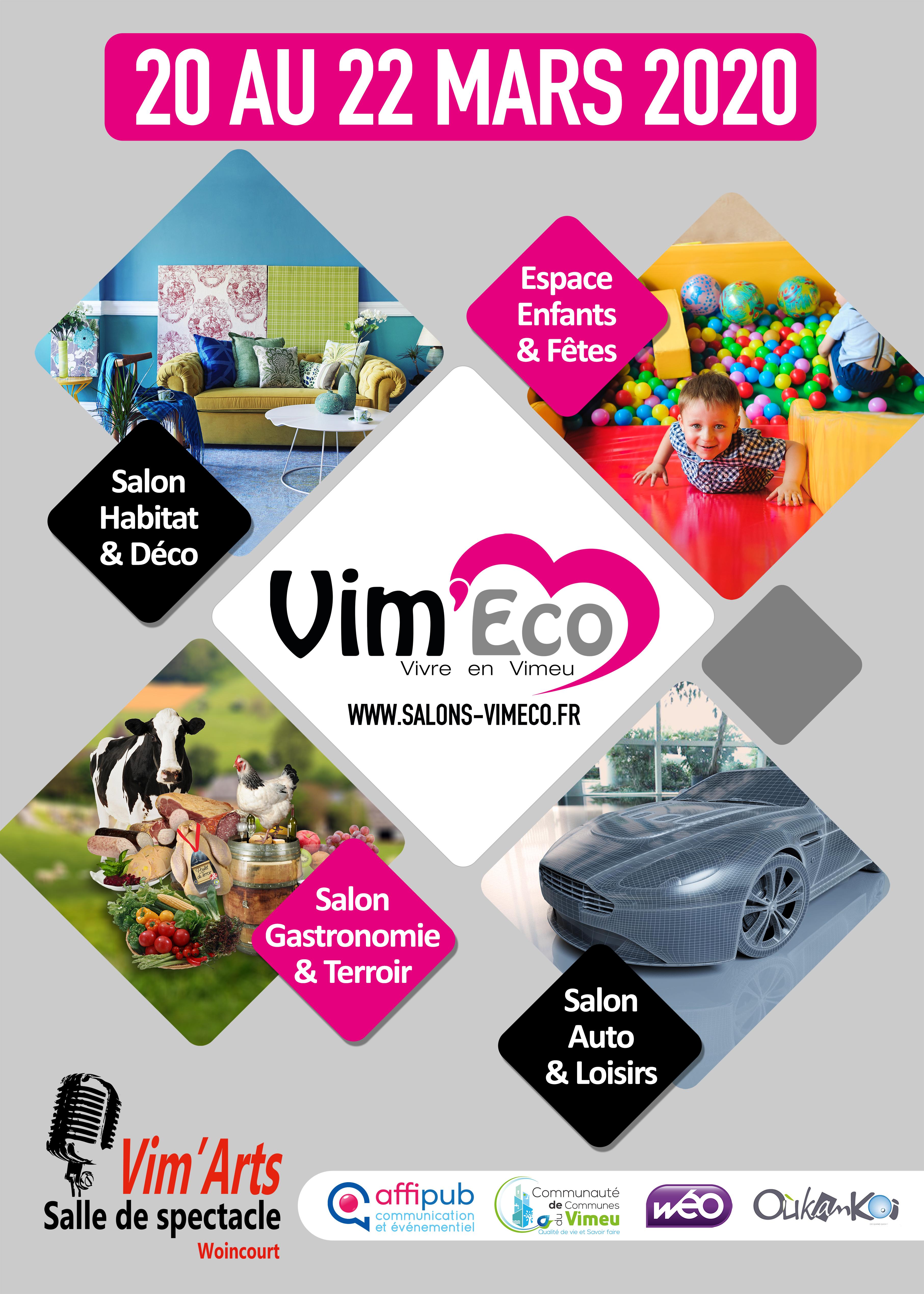 Vim'Eco l'Art de vivre en Vimeu du 20 au 22 mars 2020
