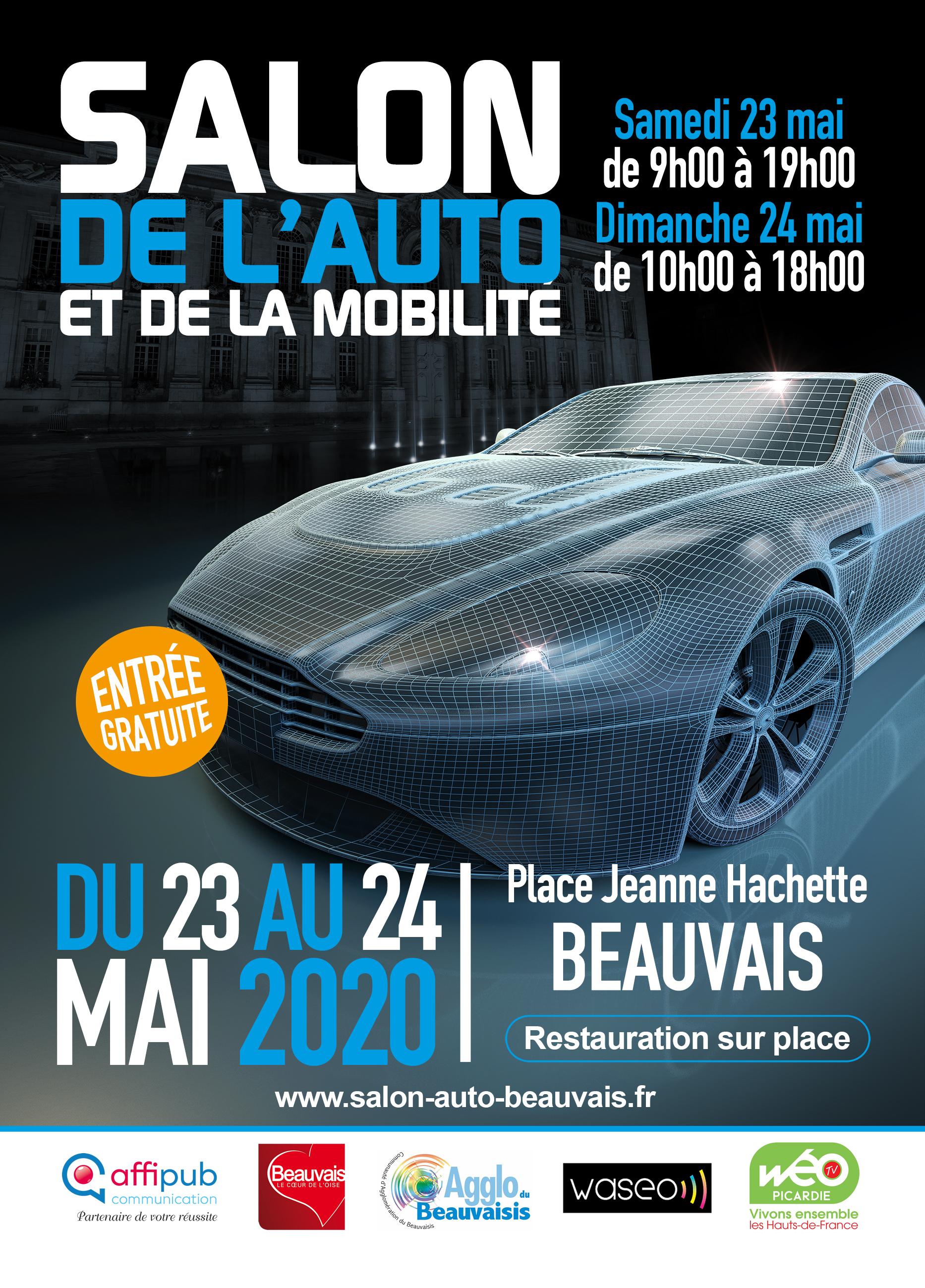 Le Salon de l'Auto de l'Oise à Beauvais
