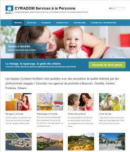Cyriadom-site internet par Affipub Communication