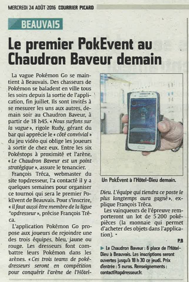 PokEvents-Courrier Picard