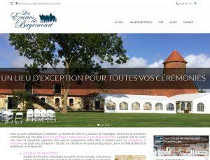 Ecuries de Bayencourt lieu de réception pour toutes cérémonies Oise site web créé par Affipub Communication
