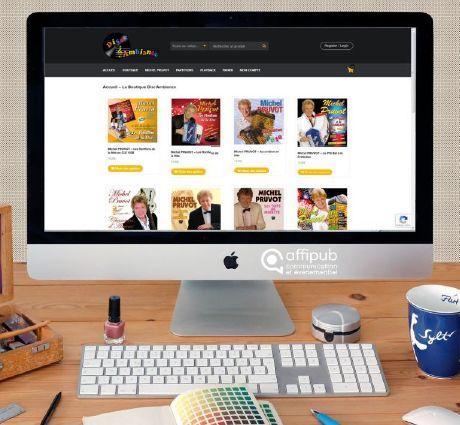 Création d'un site internet e-comemrce pour l'agence de Beauvais