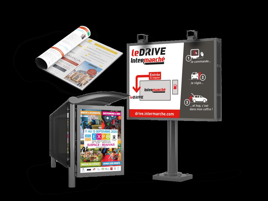 Pour votre régie publicitaire contactez Affipub Communication l'agence de communication à Beauvais