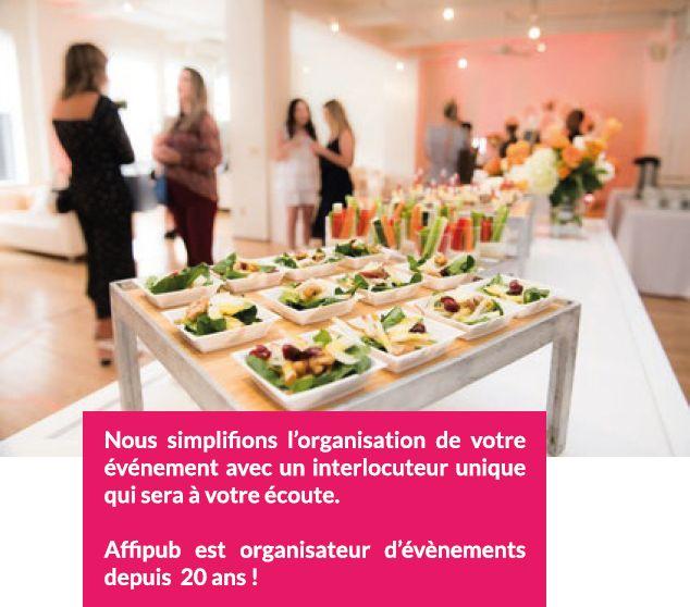 Organisation d'événements d'entreprise avec Affipub, l'agence événementielle de Beauvais
