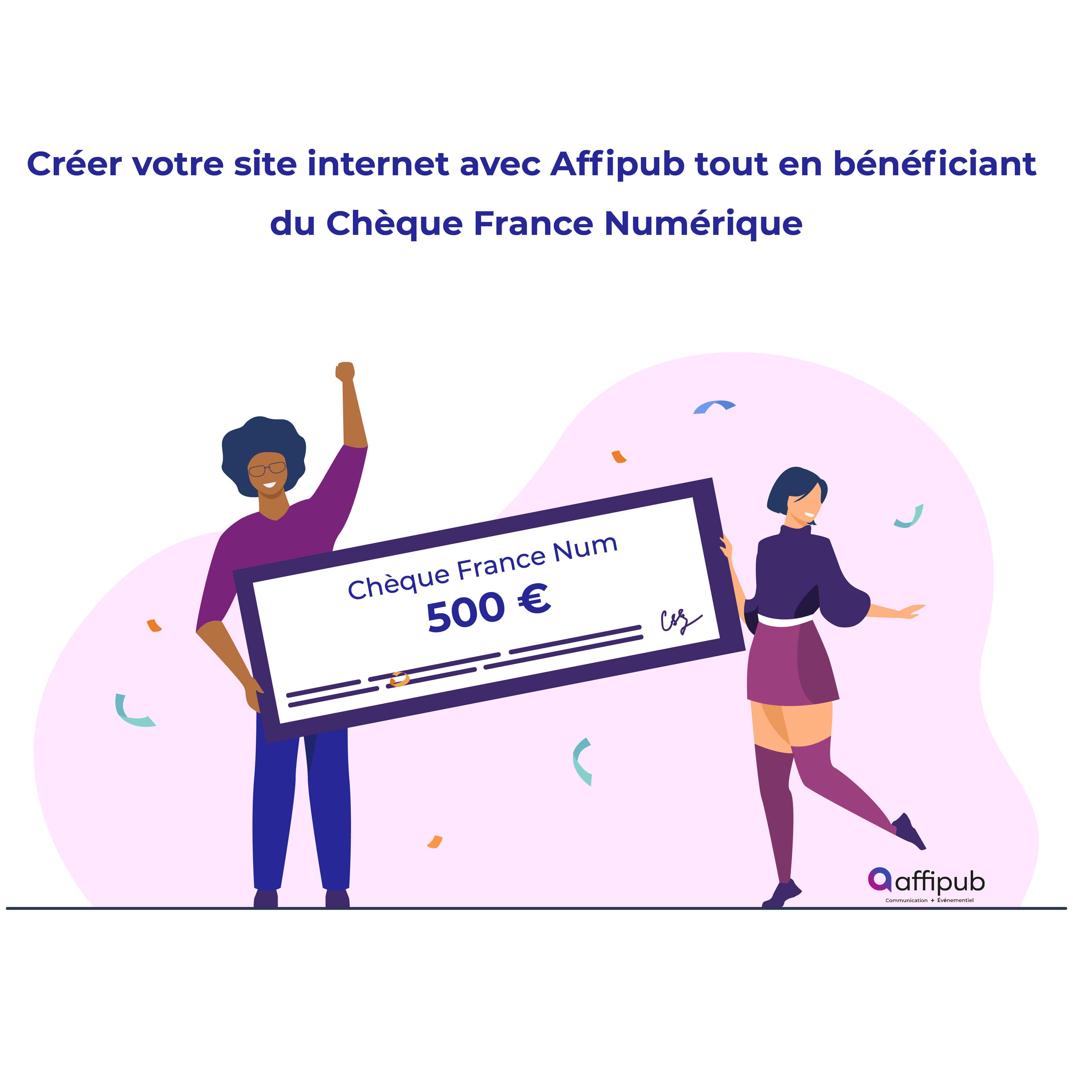creation site internet agence communication oise cheque france num