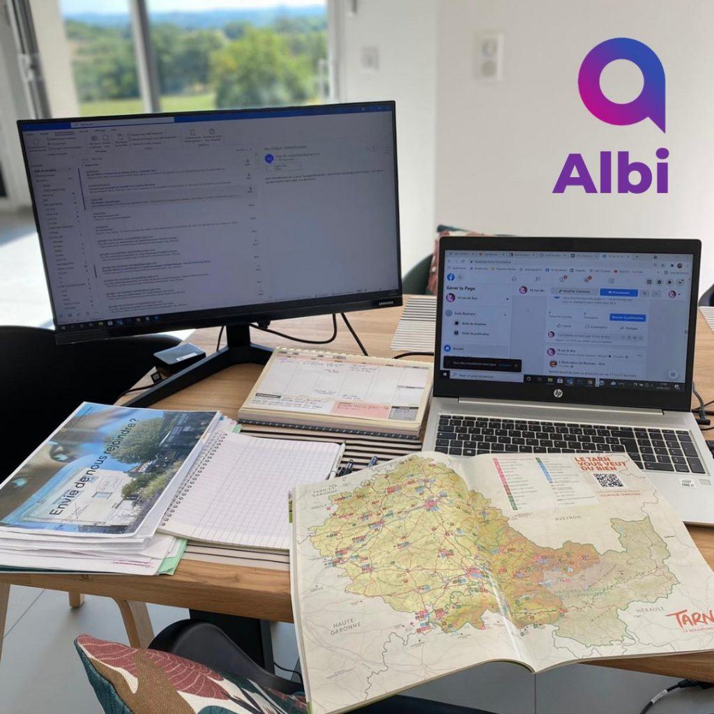 Affipub arrive a Albi dans le Tarn