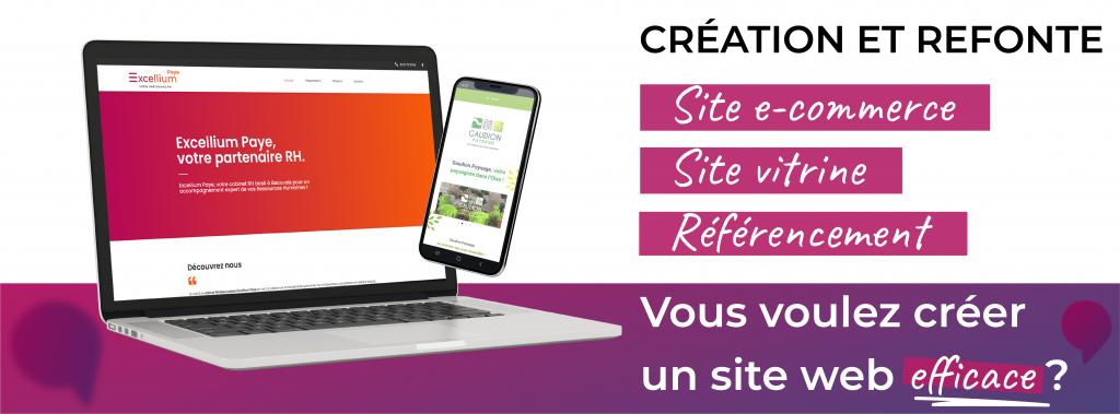 Création et refonte site internet à Beauvais