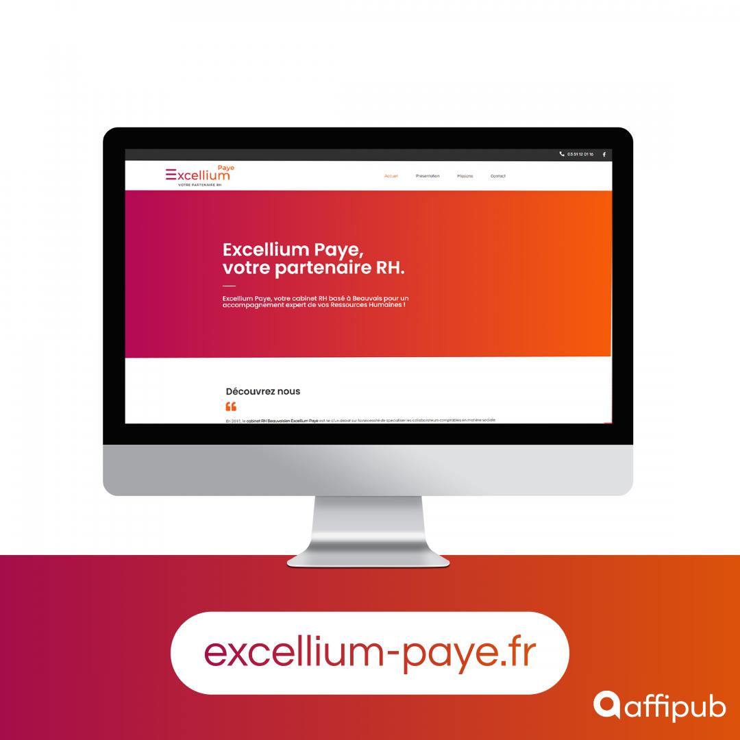 Site internet d'Excellium Paye à Beauvais